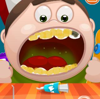 بازی دندانپزشک کوچک